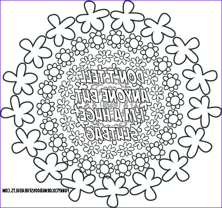 Adult Coloring Book Swear Words Beautiful Images the Best Free Swear Coloring Page Images Download From