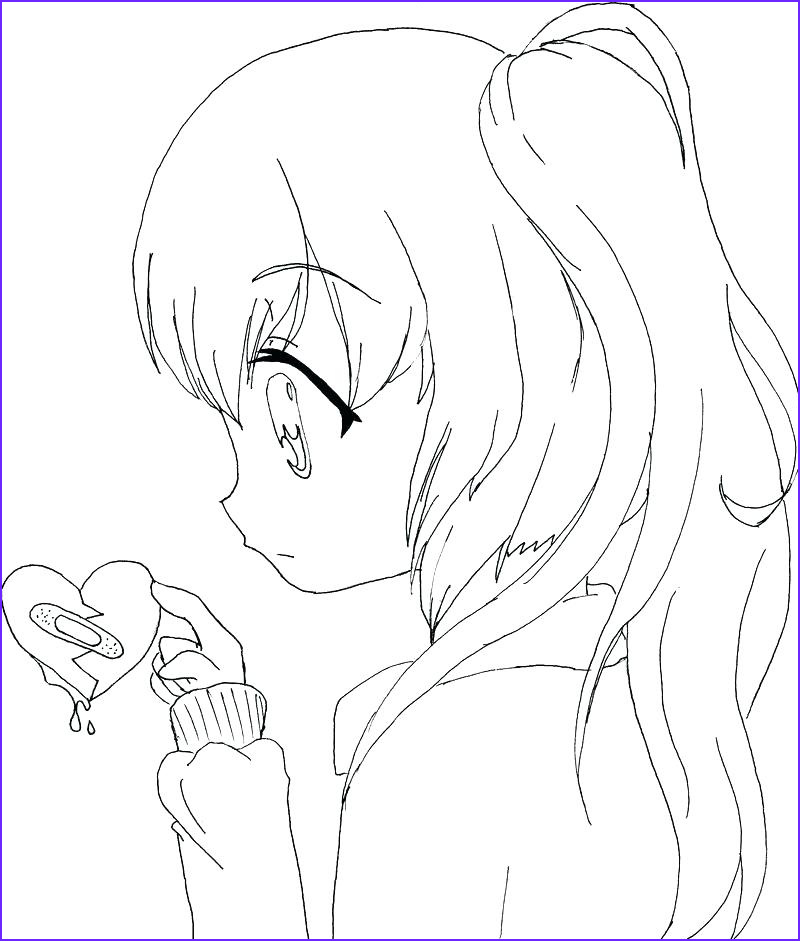 Anime Wolf Girl Coloring Page Beautiful Photos Anime Wolf Girl Coloring Pages at Getcolorings