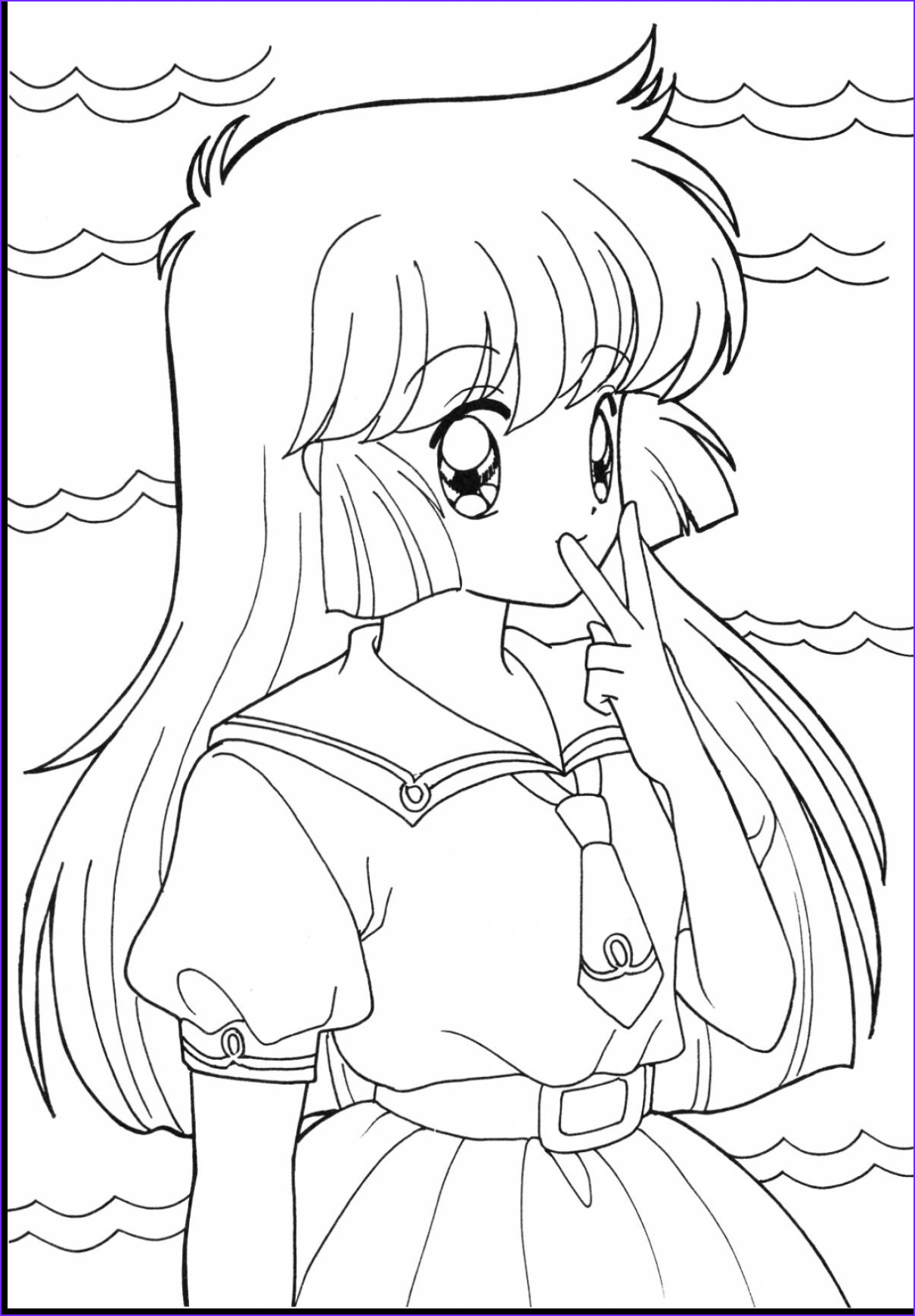 Anime Wolf Girl Coloring Page Cool Photography Anime Wolf Girl Coloring Pages Coloring Pages for Children