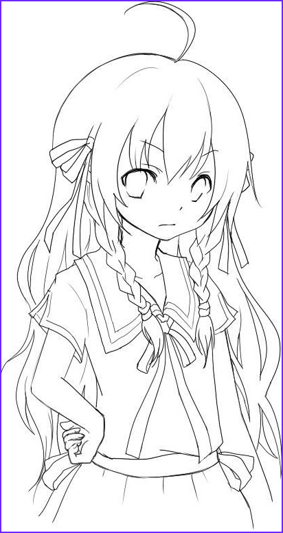 Anime Wolf Girl Coloring Page Inspirational Photos Anime Emo Wolf Girl Coloring Pages Сoloring Pages for
