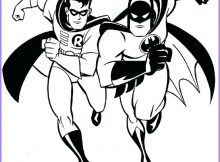 Batman and Robin Coloring Page Beautiful Photos Batman and Robin Coloring Page Free Coloring Pages Line