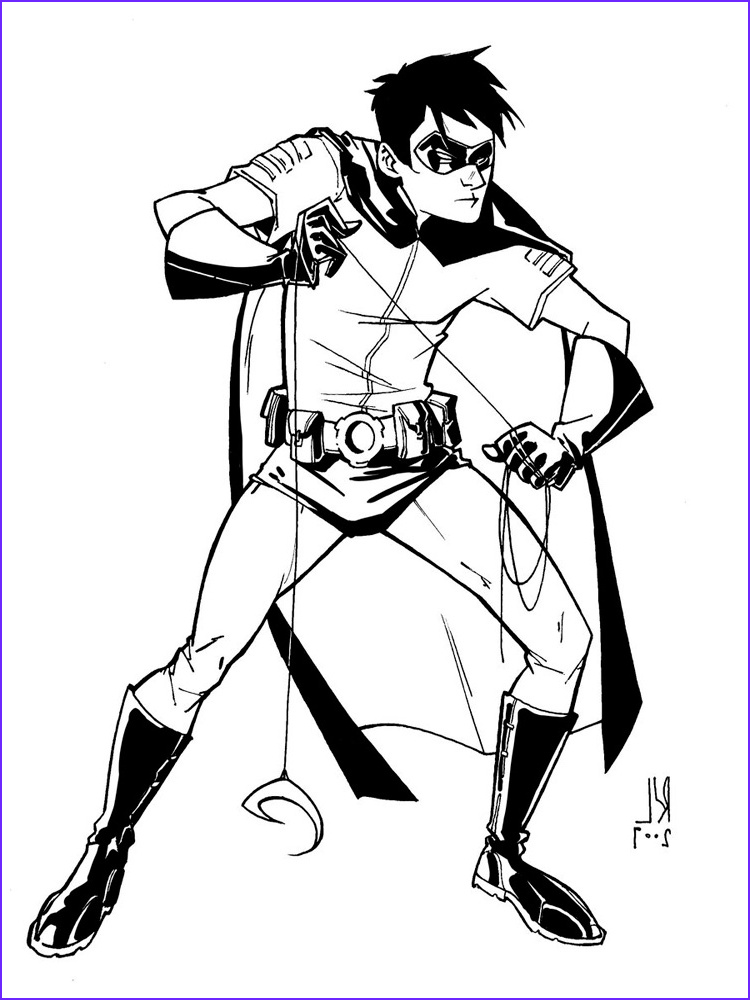 Batman and Robin Coloring Page Cool Stock Batman and Robin Coloring Pages Free Printable Batman and