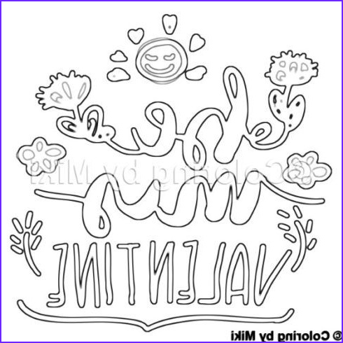 Be My Valentine Coloring Page Elegant Images Be My Valentine Coloring Page 36