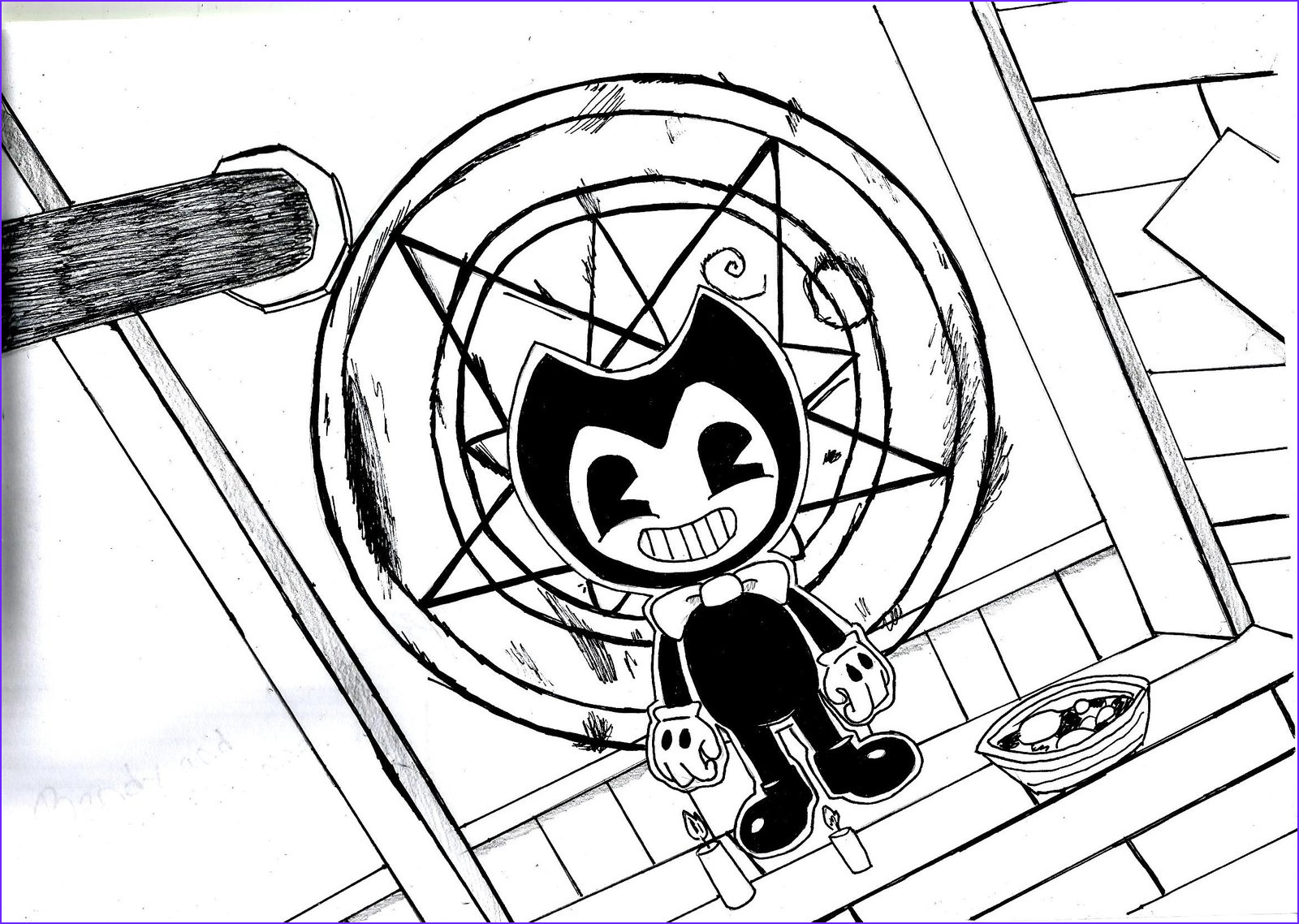 Bendy and the Ink Machine Coloring New Photography 75 Free Printable Coloring Pages Bendy Coloring Pages