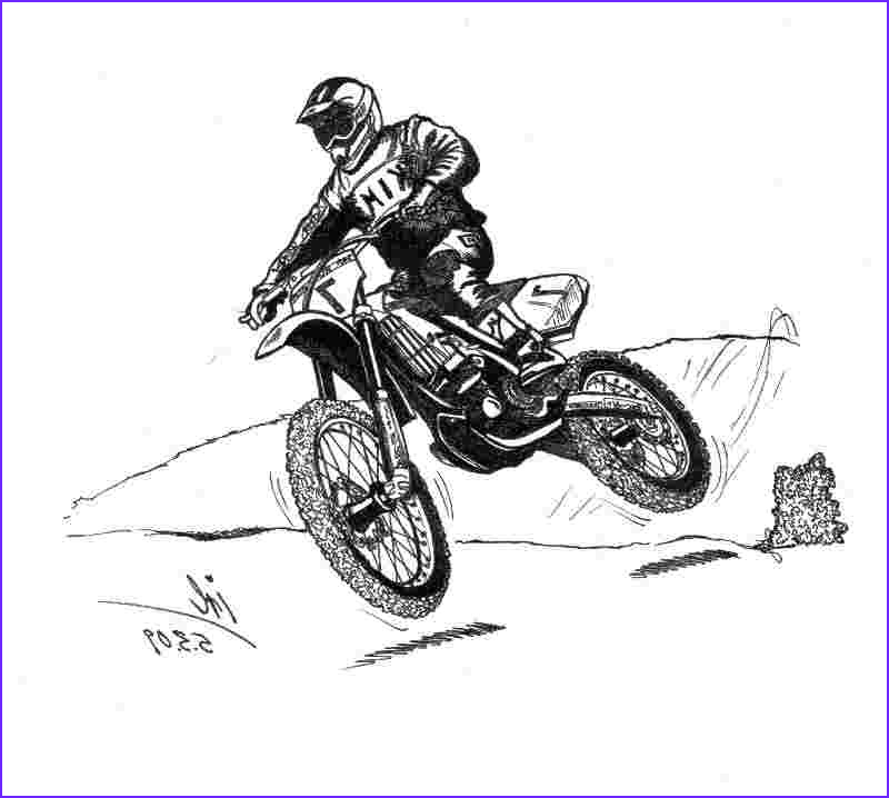 dirt bike coloring pages free coloring pages for kids 4 2