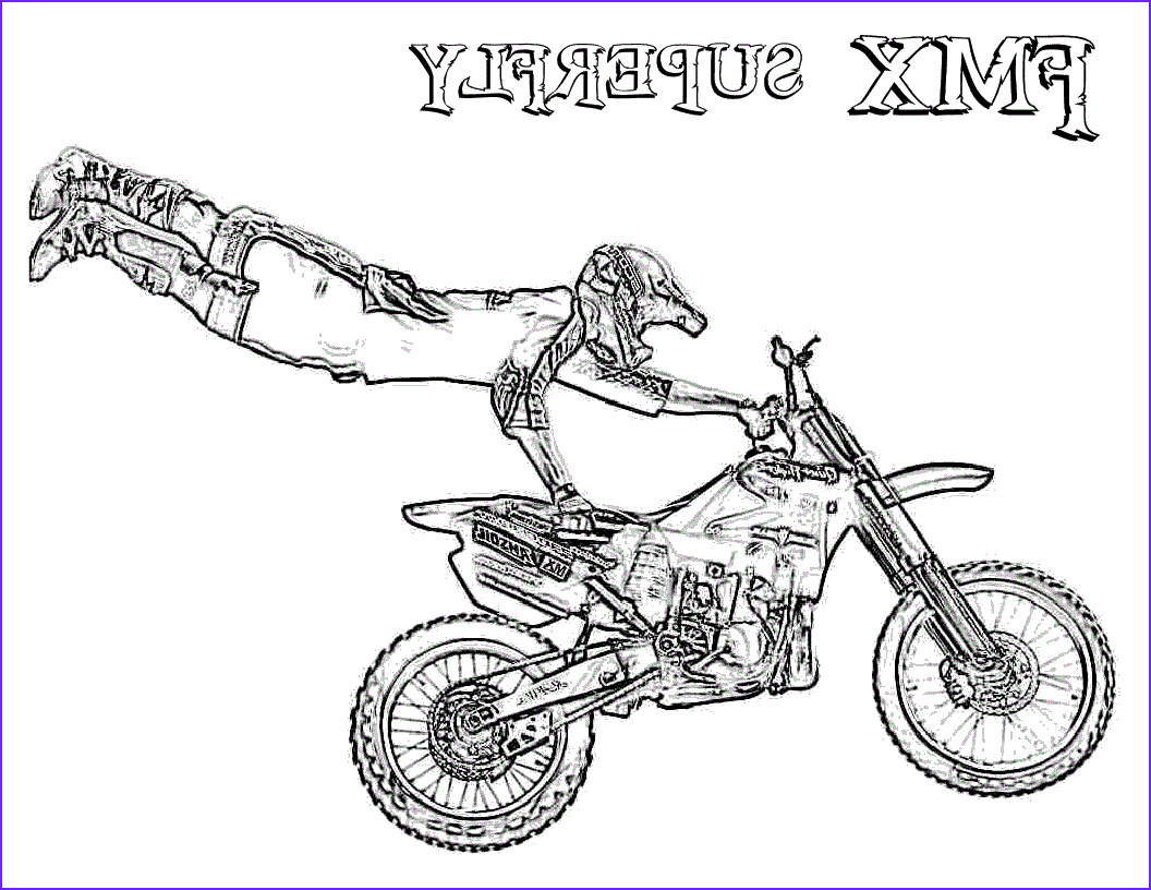 dirt bike coloring pages free coloring pages for kids 5