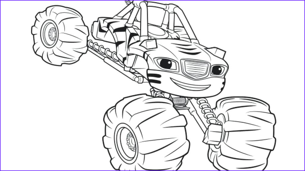Blaze Coloring Sheet Cool Stock Blaze Coloring Pages to Print at Getdrawings