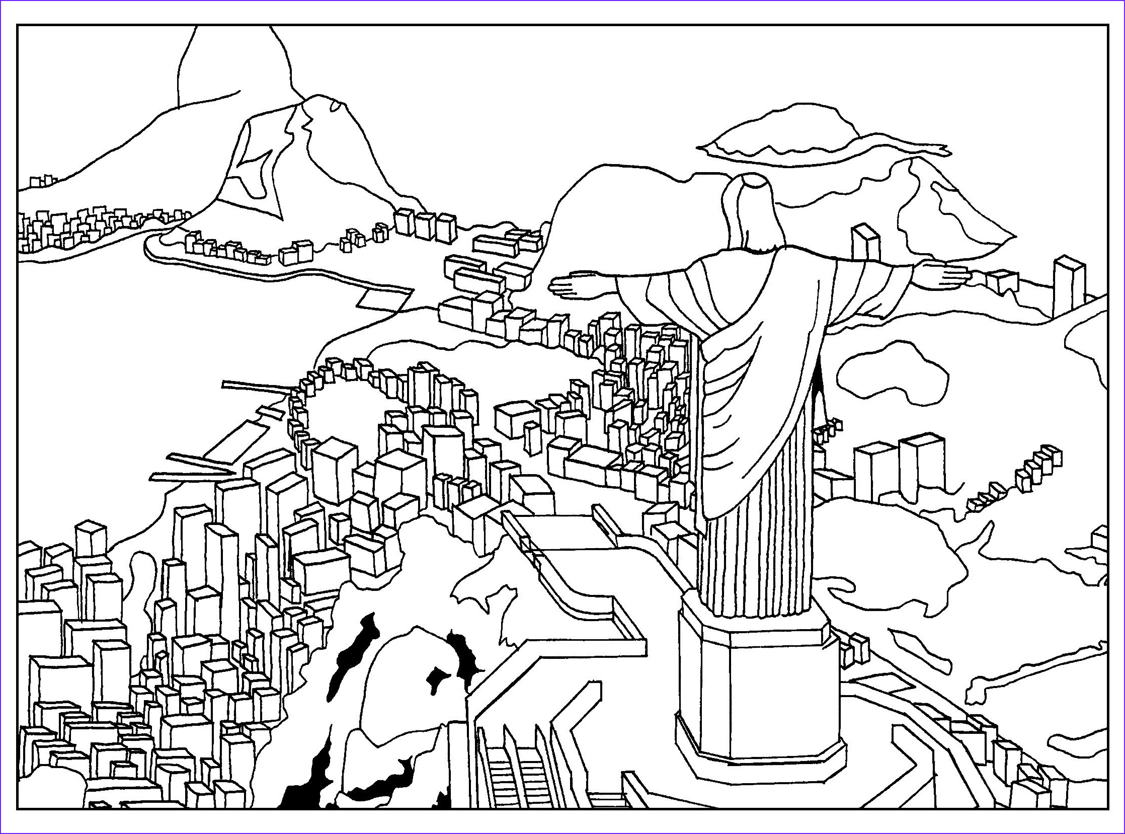 unique animals of brazil coloring pages