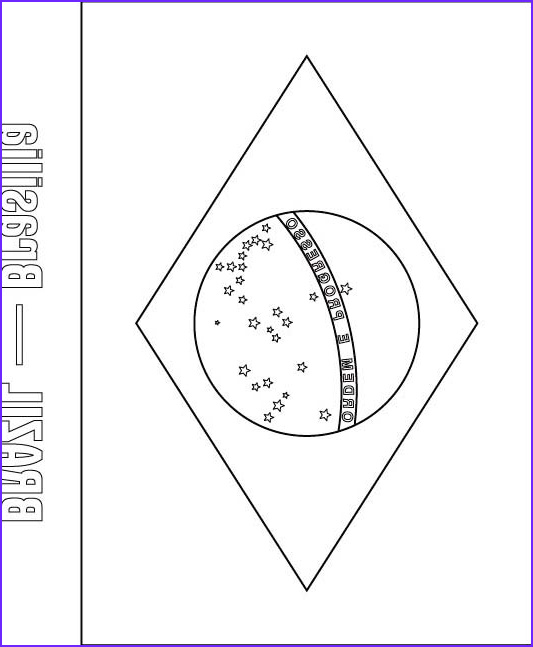 brazil flag coloring page 1d1466
