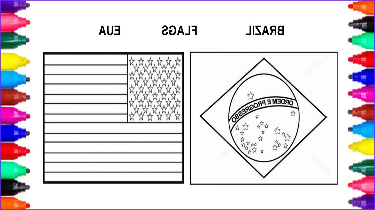 35 flag of brazil coloring pages