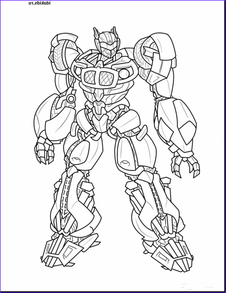 bumblebee coloring book print coloring pages transformers