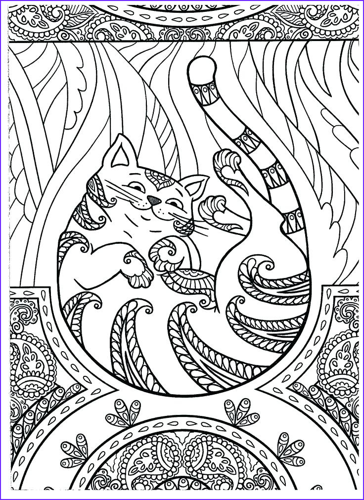 Cat Adult Coloring Page Luxury Gallery Hard Dog Coloring Pages at Getcolorings