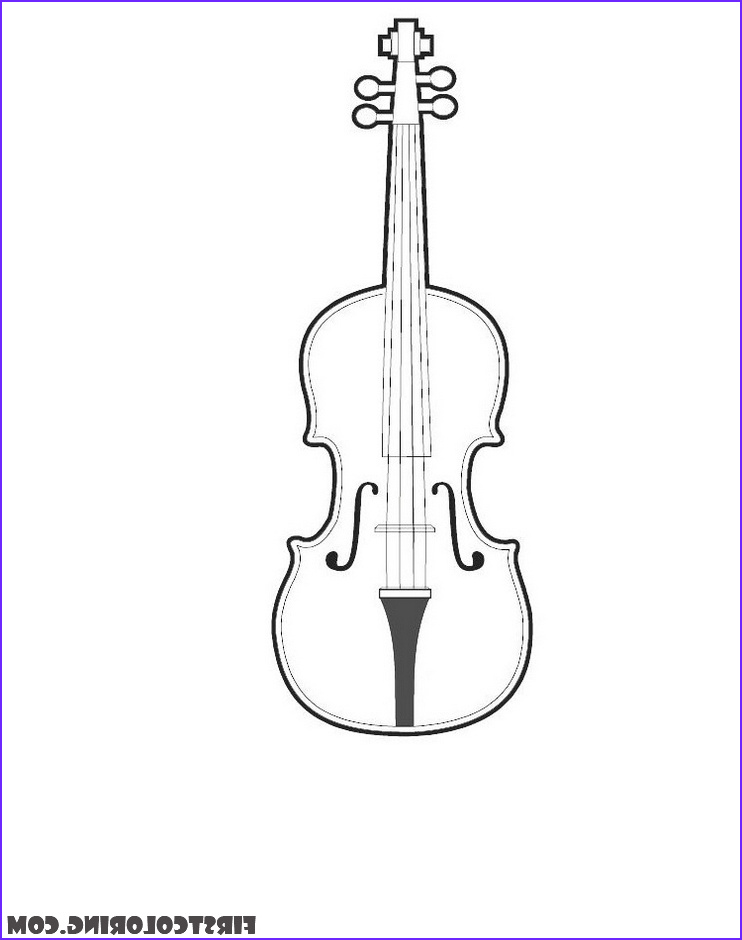 Cello Coloring Page Beautiful Photography Cello Coloring Pages – First Coloring for Our Children