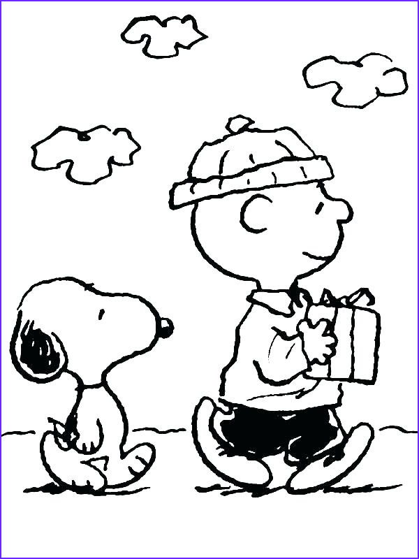 Charlie Brown Coloring Book Luxury Photos Snoopy Christmas Coloring Pages at Getcolorings