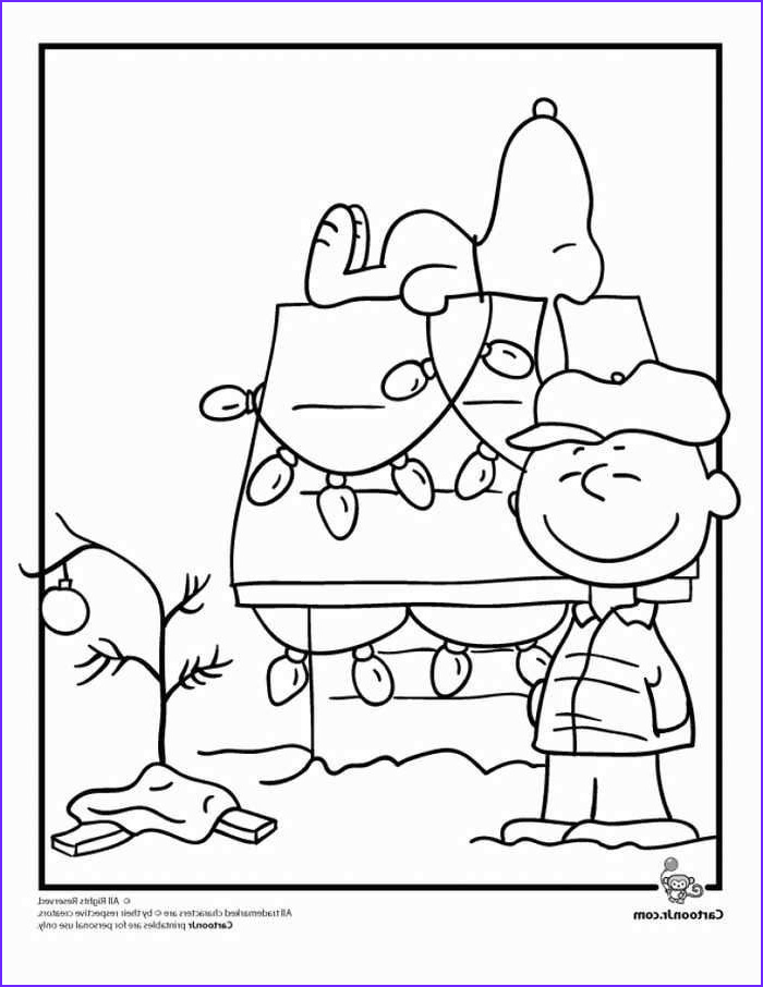 Charlie Brown Coloring Page Cool Gallery Charlie Brown Christmas Coloring Page