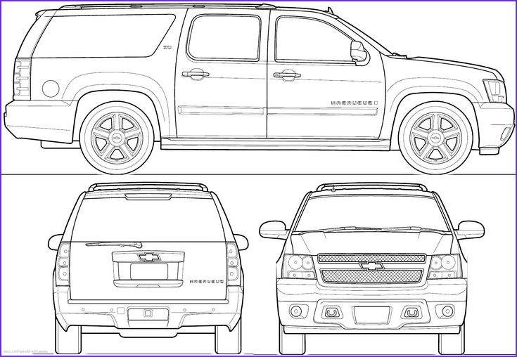 Chevy Coloring Page Elegant Stock Chevy Coloring Pages Suburban 2020 Check More At
