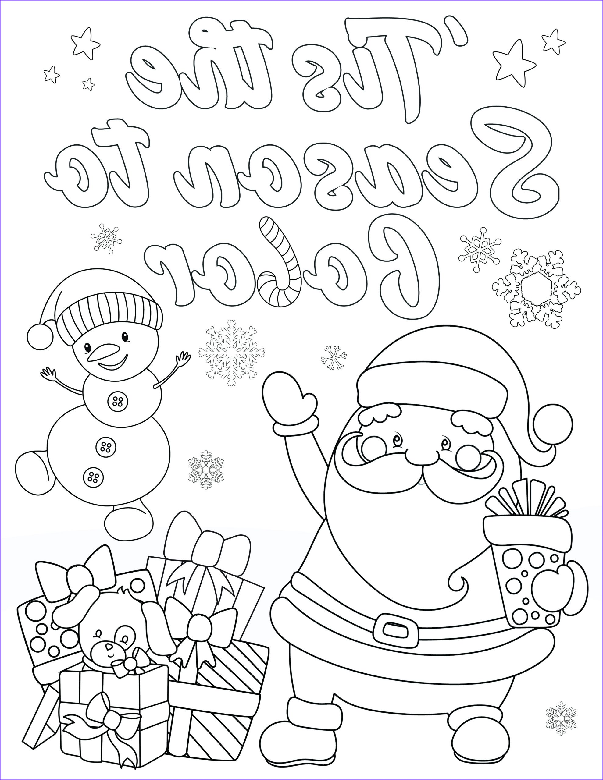 Christmas Coloring Page for Preschoolers Best Of Images Free Christmas Coloring Pages for Adults and Kids