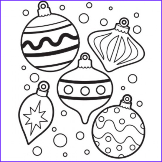 Christmas Ornaments Coloring Picture Cool Collection Coloring Pages Christmas Ornaments – Wallpapers9