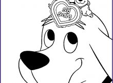 Clifford Coloring Page Awesome Collection Clifford Coloring Pages to Print Coloring Home