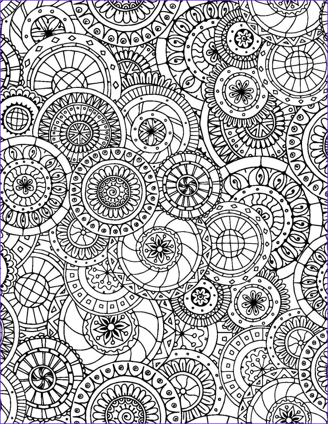 Color Art Coloring Book Luxury Collection Geometric Designs for Adults who Color Live Your Life In