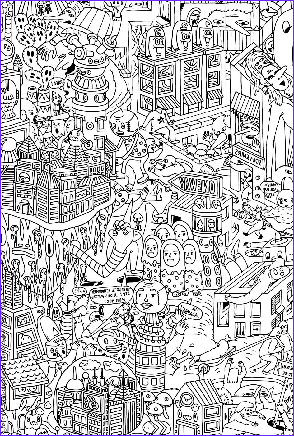 Color Art Coloring Book New Gallery Doodle Art Doodling 12 Doodle Art Doodling Adult