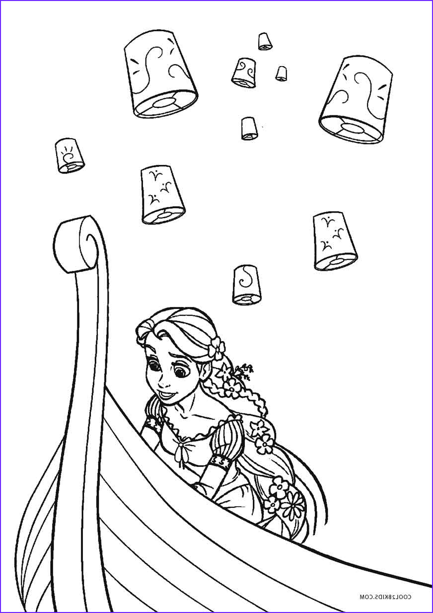 Color Coloring Book Inspirational Image Free Printable Tangled Coloring Pages for Kids
