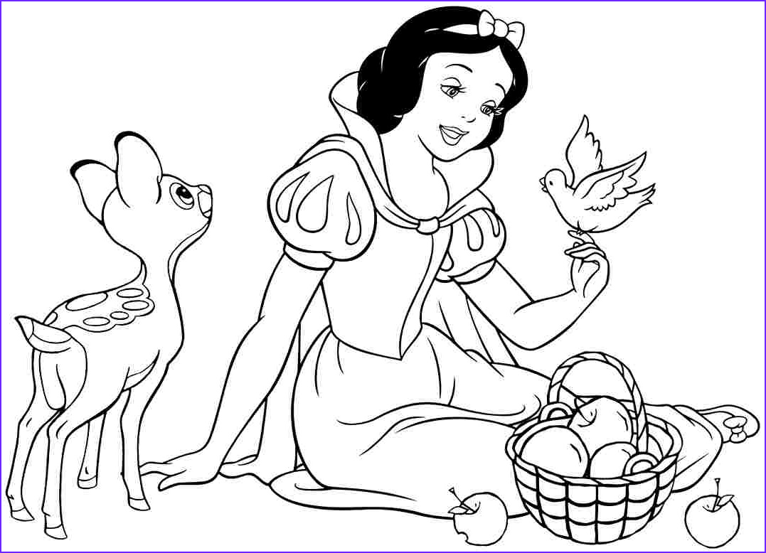 Color Coloring Page New Images Snow White Coloring Pages Best Coloring Pages for Kids