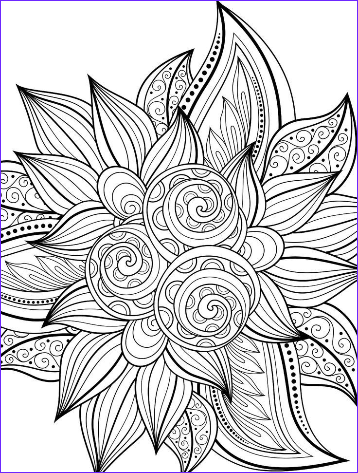 Color Coloring Page Unique Collection Cool Printable Coloring Pages for Adults Coloring Home
