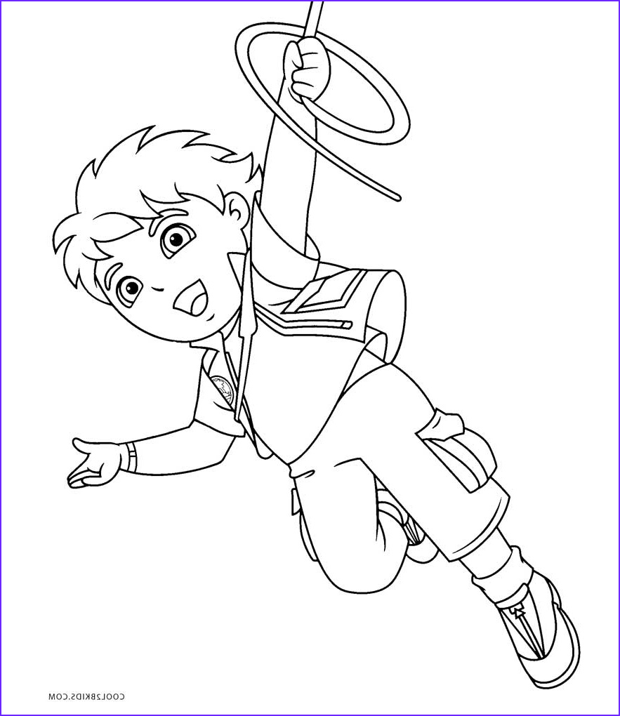 Coloring Book toddler Inspirational Photos Free Printable Diego Coloring Pages for Kids