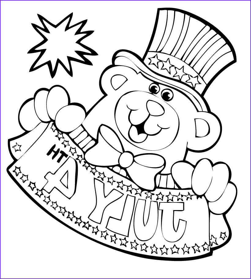 Coloring Page 4th Of July Luxury Collection Free Coloring Pages Fourth Of July Coloring Pages