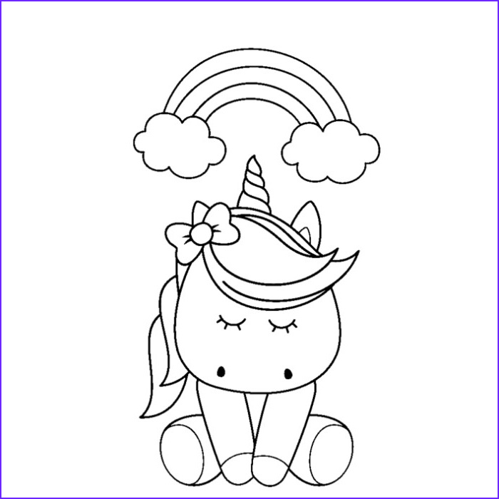 Coloring Page Cute Unicorn Best Of Photography 51 Cute Cartoon Unicorn Coloring Pages – Getcoloringpages