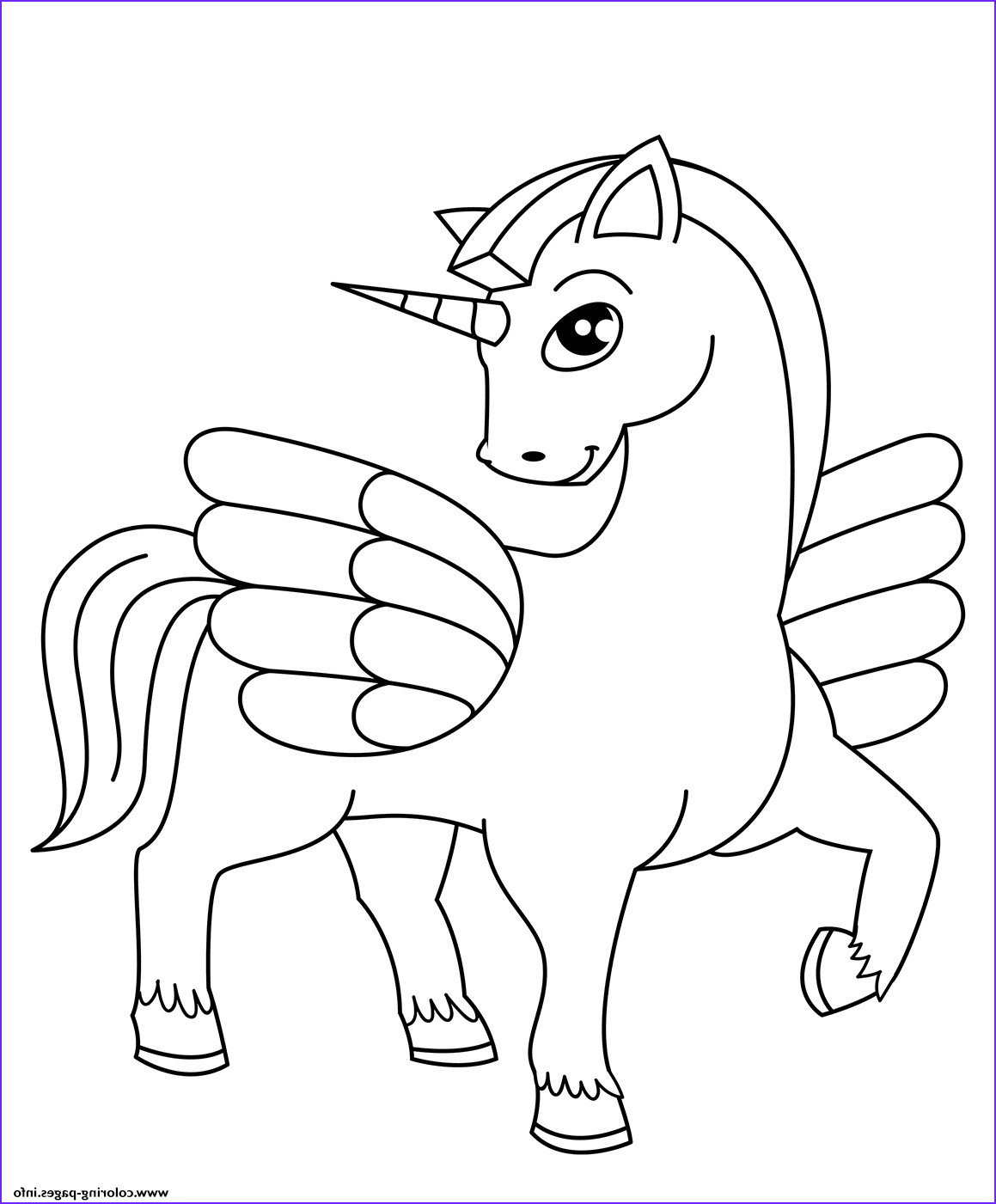 Coloring Page Cute Unicorn Luxury Photos Special Needs Coloring Pages Learny Kids