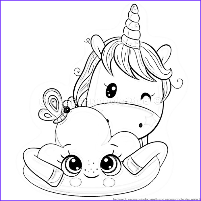 Coloring Page Cute Unicorn New Photography 25 Cute Cartoon Unicorn Coloring Pages – Getcoloringpages