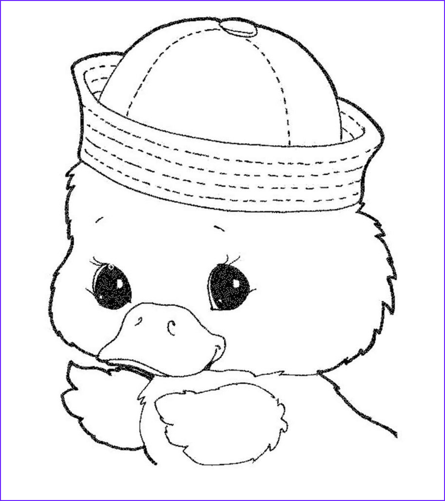 cute duck coloring pages your toddler will love to color