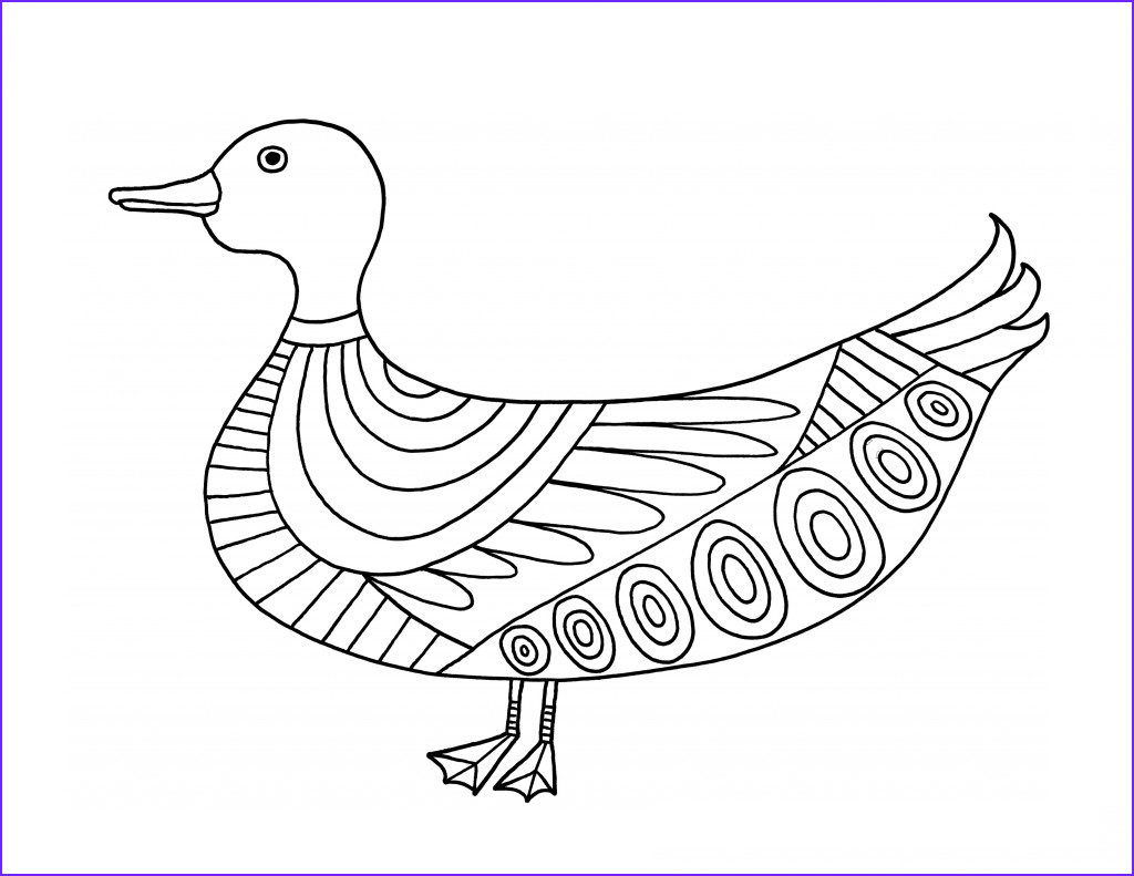 Coloring Page Duck Inspirational Photos Free Printable Duck Coloring Pages for Kids