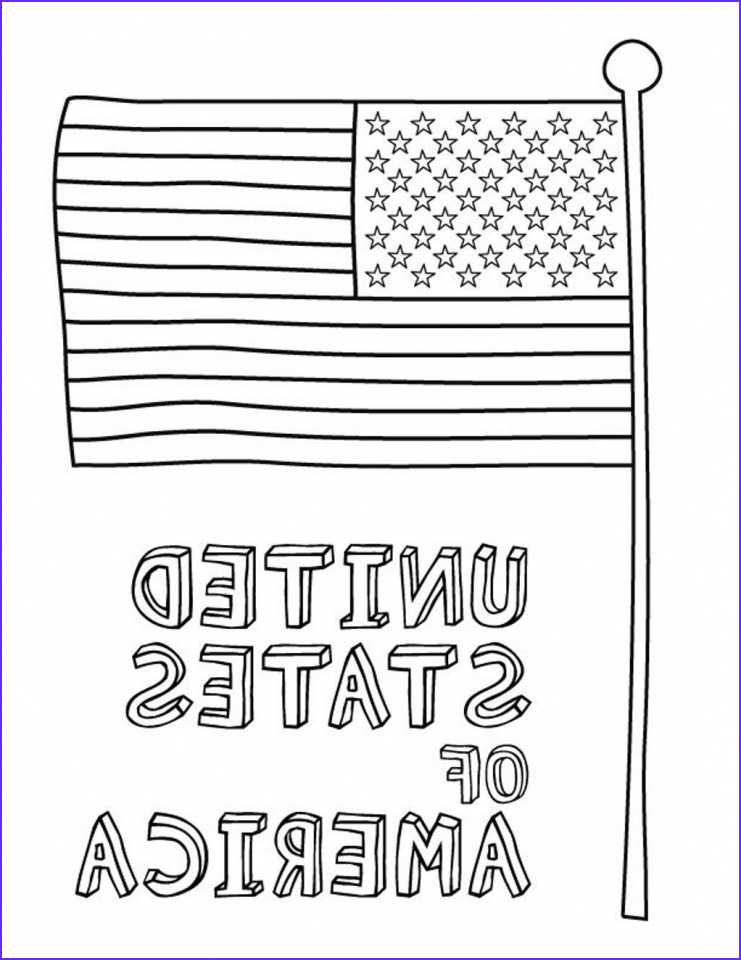 Coloring Page Flags Best Of Images Get This American Flag Coloring Pages for First Grade