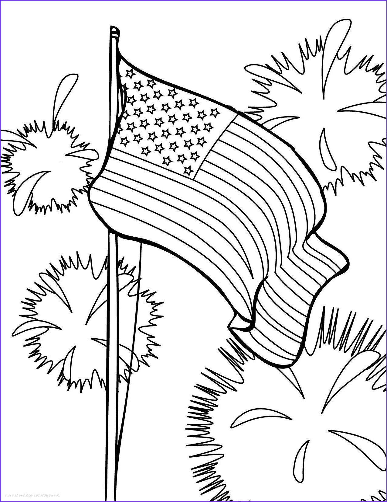 Coloring Page Flags Elegant Photos American Flag Coloring Pages for Preschool