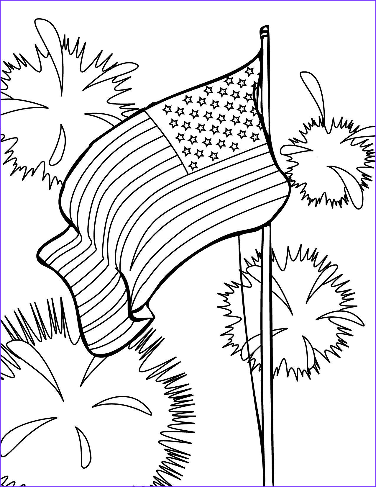 Coloring Page Flags Inspirational Collection American Flag Coloring Pages Best Coloring Pages for Kids