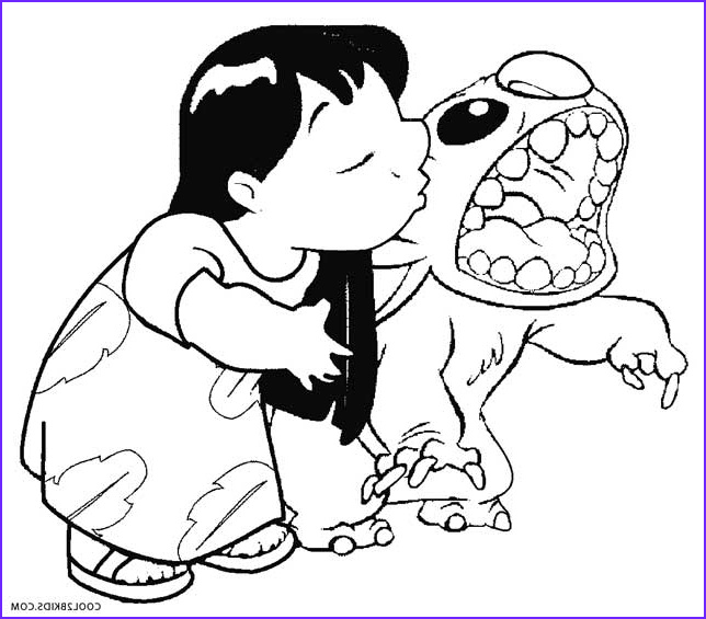 Coloring Page Lilo and Stitch Beautiful Gallery Printable Lilo and Stitch Coloring Pages for Kids