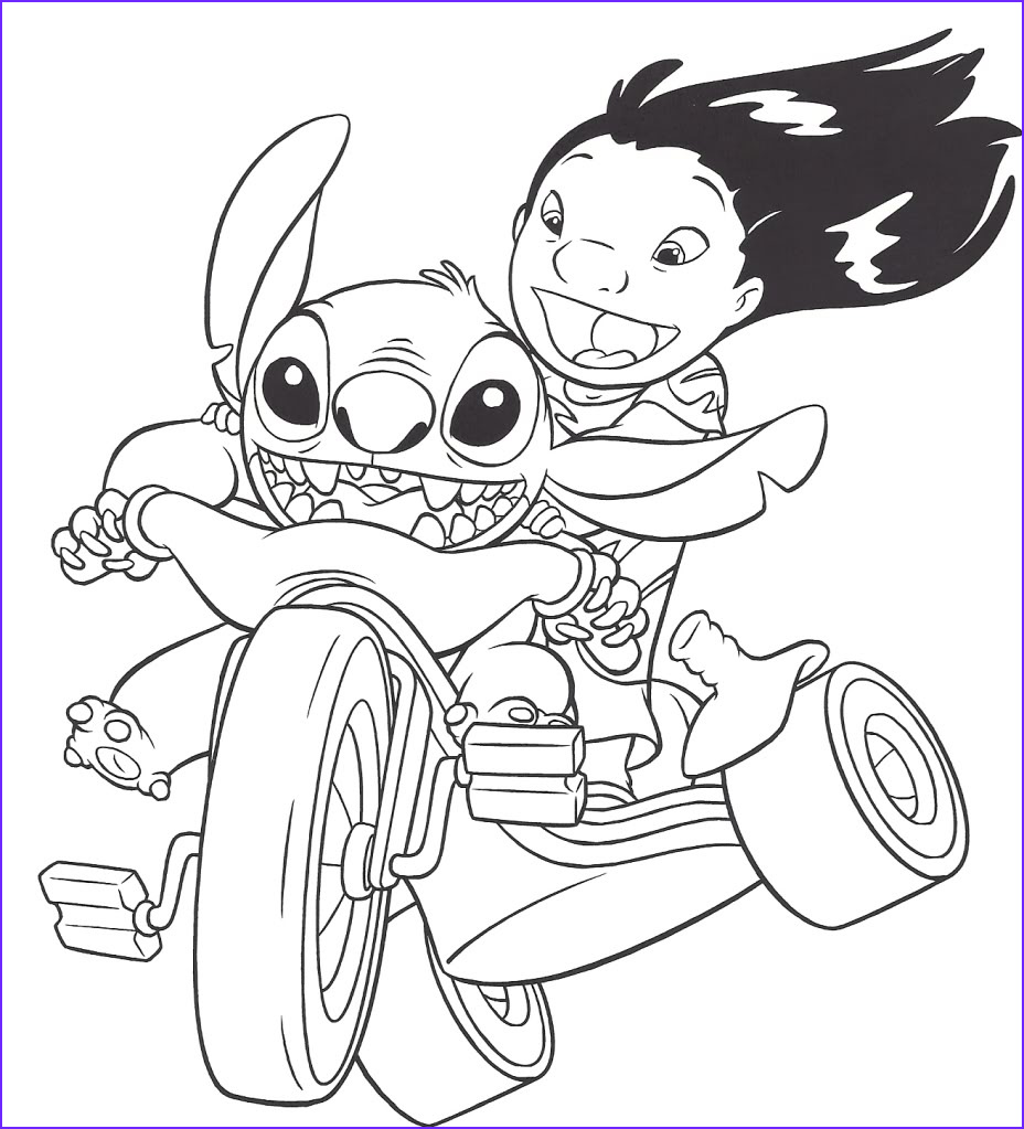 Coloring Page Lilo and Stitch New Photos Free Printable Lilo and Stitch Coloring Pages for Kids