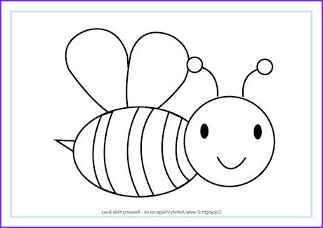 Coloring Page Of Bees Beautiful Photos Bee Colouring Page