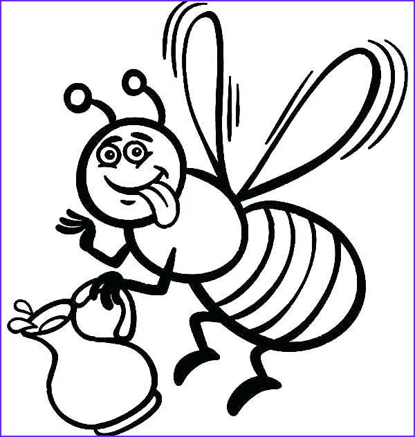 Coloring Page Of Bees Inspirational Photos Queen Bee Coloring Page at Getcolorings
