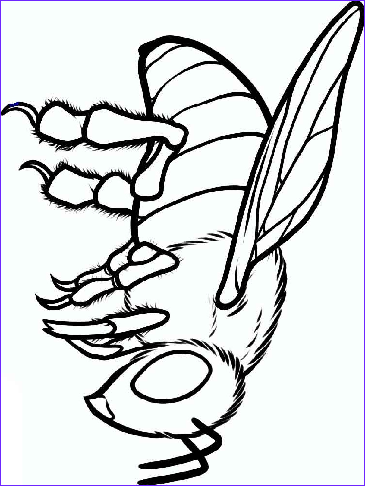 Coloring Page Of Bees New Stock Bee Coloring Pages Download and Print Bee Coloring Pages