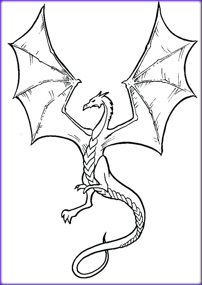 Coloring Page Of Dragons Beautiful Photography Flying Dragon Coloring Pages at Getcolorings