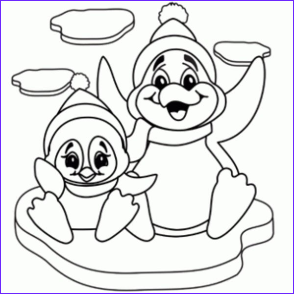 Coloring Page Penguin Unique Photos Penguins Coloring Pages to and Print for Free