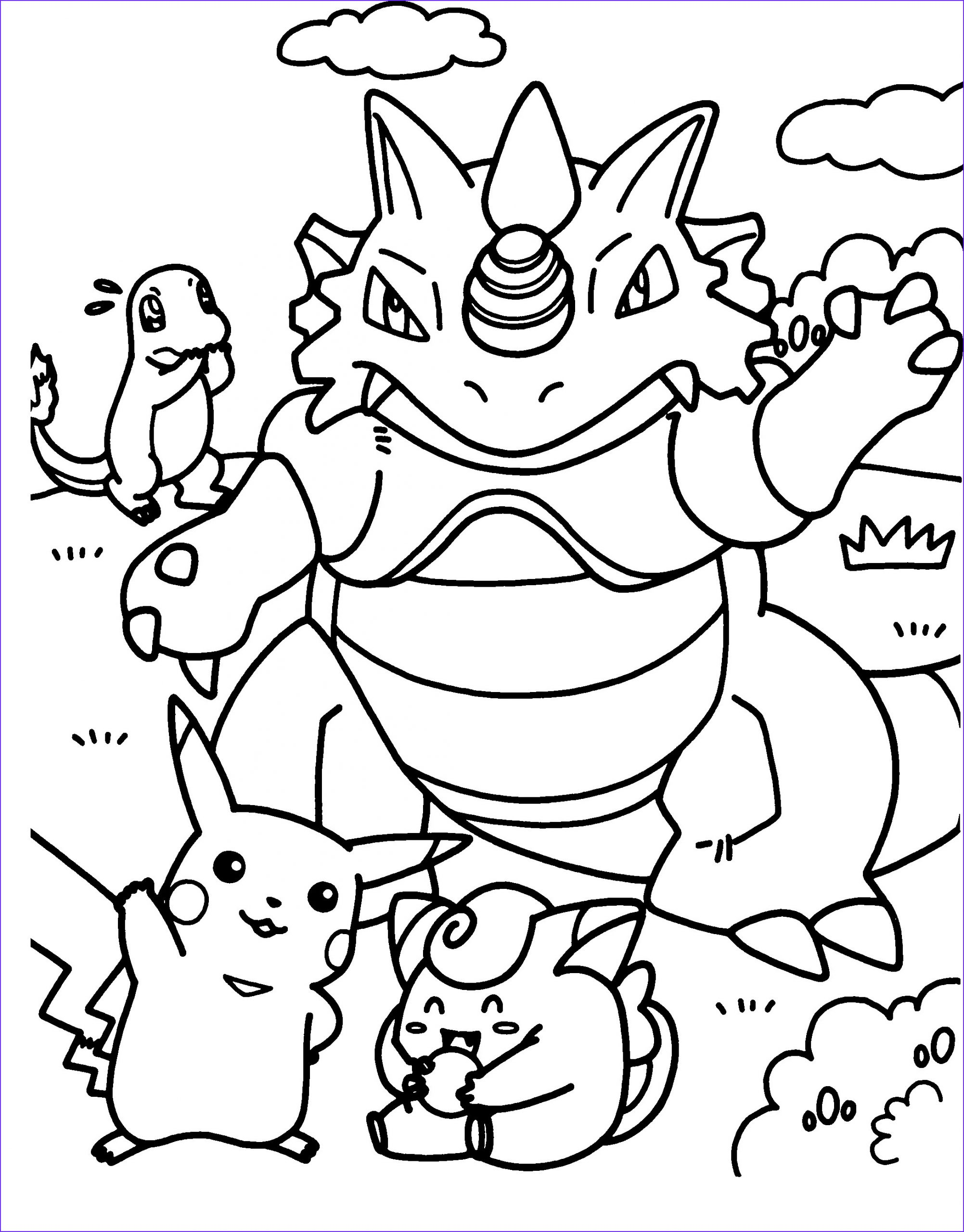 Coloring Page Pokeman Beautiful Images Pokemon Coloring Pages for Kids Printable