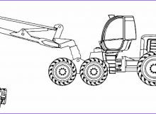 Combine Coloring Page New Image Printable John Deere Coloring Pages for Kids