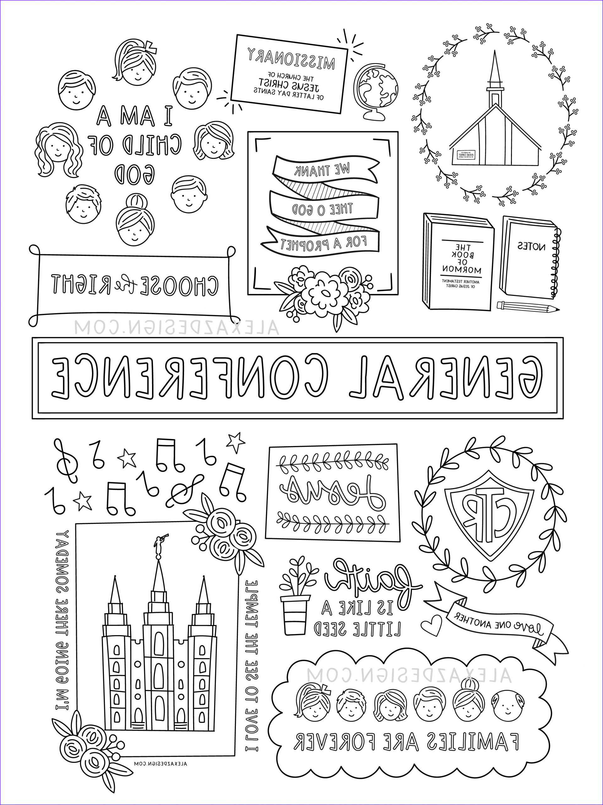 Conference Coloring Page Best Of Photos General Conference Coloring Page Printables