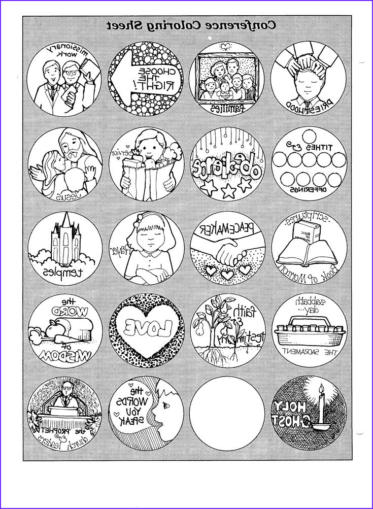 Conference Coloring Page Luxury Collection Mormon General Conference Coloring Page
