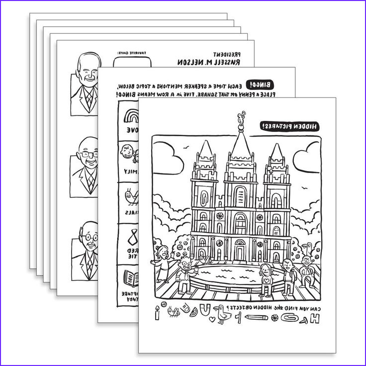 Conference Coloring Page Unique Photography April 2019 General Conference Coloring Pages Pdf